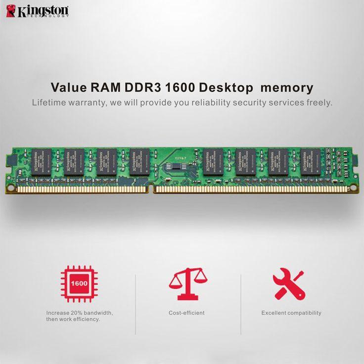 "Genuine Original Kingston KVR Desktop RAM Motherboard Memory Coupon code ""ALC2839"" for 4GB, only 24.99$ Coupon code ""ALC28398"" for 8GB, only 50.99$ Get one now>> https://www.cafago.com/en/flash-drives-storage-2639/p-c2839-8.html?aid=Lss568"