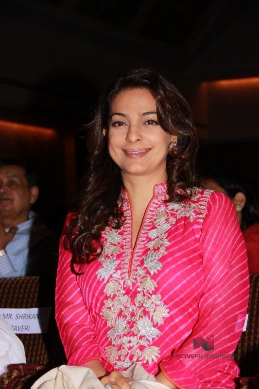 Juhi Chawla At The Launch Of RUBARU Fusion Show