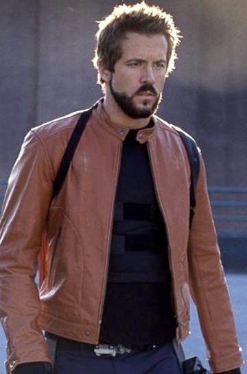 Ryan Reynolds Blade Trinity Jacket | Hannibal King Brown Leather Jacket by Arcfashions. Grab yourself a  Ryan Rynolds Jacket for just $222.00.  We now provide you this outstanding jacket with free worldwide shipment.  Visit : http://www.arcfashions.com/products/Blade-Trinity-Hannibal-King-Brown-Leather-Jacket.html #RyanReynolds #BladeTrinityJacket #leatherjackets #new #winterfashion #fashionformen #onlineshopping #celebrities #celebrity