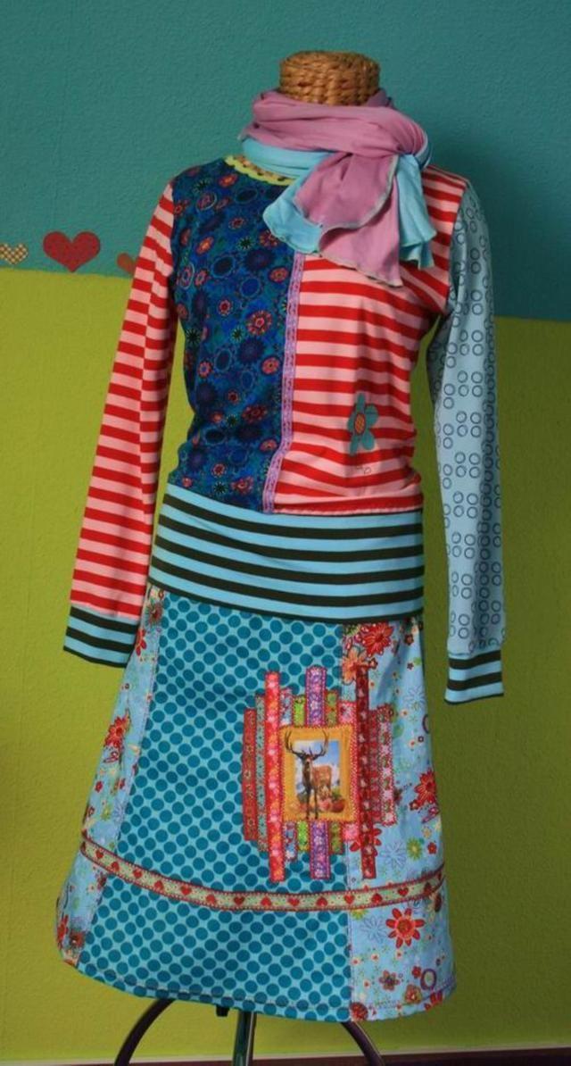Langeness, patroon - farbenmix Online-Shop - Schnittmuster, Anleitungen zum Nähen