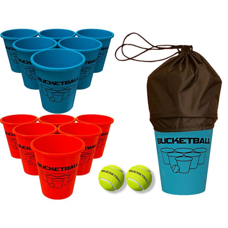 BucketBall - #1 Giant Beer Pong Game - Family Friendly Beach Game | Sporting Goods, Outdoor Sports, Backyard Games | eBay!