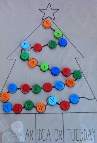 The Educators' Spin On It: Alphabet Activities for Christmas