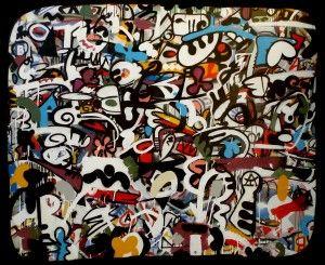 17 meilleures images propos de toiles urbaines graffiti sur pinterest uvres d 39 art. Black Bedroom Furniture Sets. Home Design Ideas