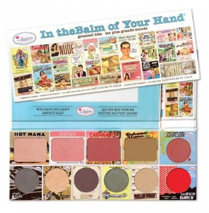 Discount!!! Get $19.01 OFF on theBalm In theBalm of Your Hand - Greatest Hits Vol. 1  Visit this for more discount offers: http://beautyjoint.com/special/tb80630-thebalm-in-thebalm-of-your-hand-greatest-hits-vol-1/