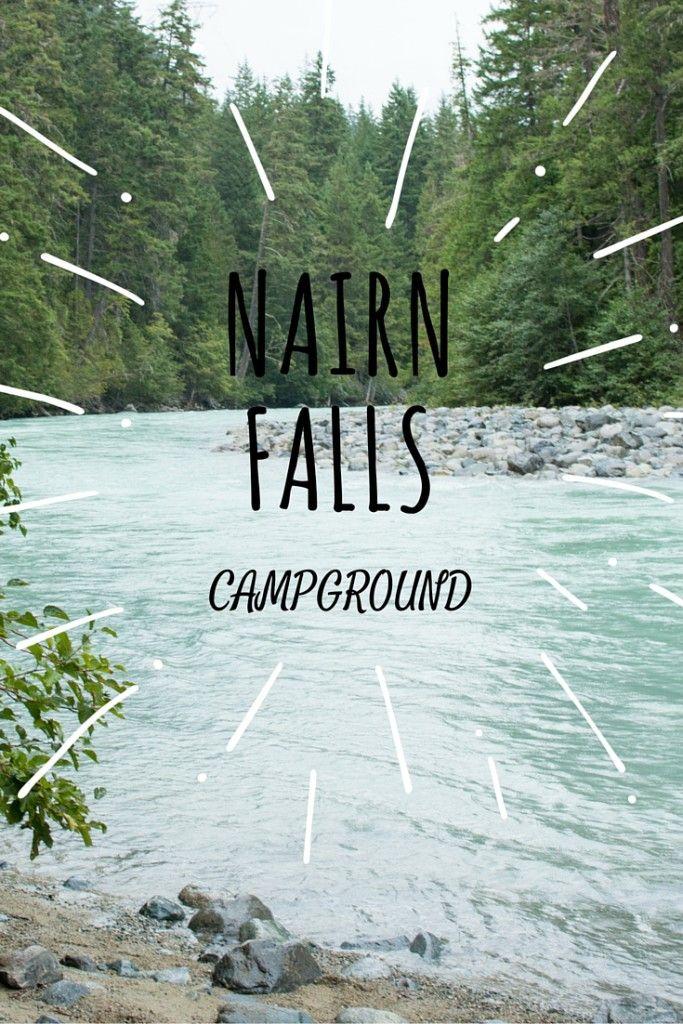 Nairn Falls Provincial Campground - Wanderlust Megan