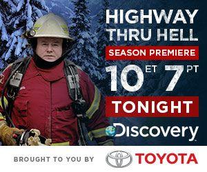 Highway Thru Hell ~ season 2 premiere tonight ! Love this show!