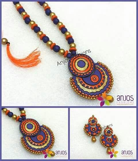 Teracotta Jewelry Set