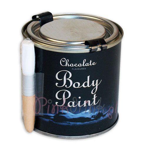 CZEKOLADA w puszce do malowania ciała KUSZĄCA! ;)