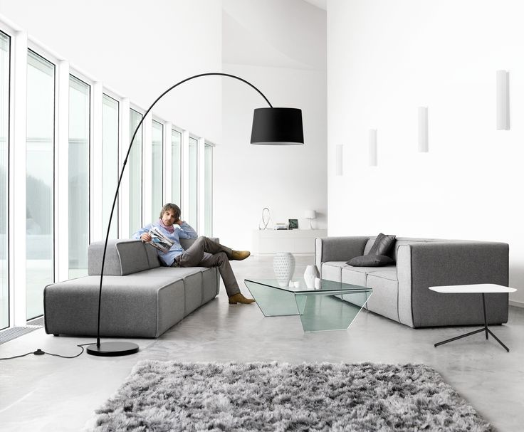 Carmo Sofa––Kuta Lamp––Neat Rug––Adria Glass Coffee Table.  *All products available in different materials and surfaces.  http://www.boconcept.com/en-nz/