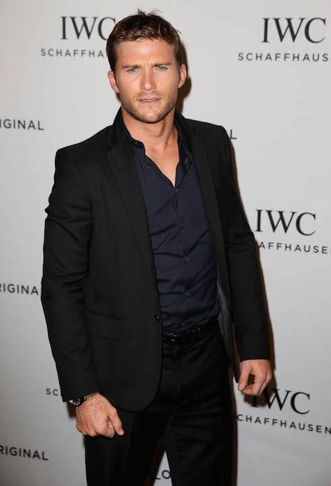 Scott Eastwood at the launch of luxury watch IWC in January 2016...
