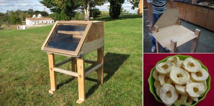 Como hacer un deshidratador de alimentos solar casero