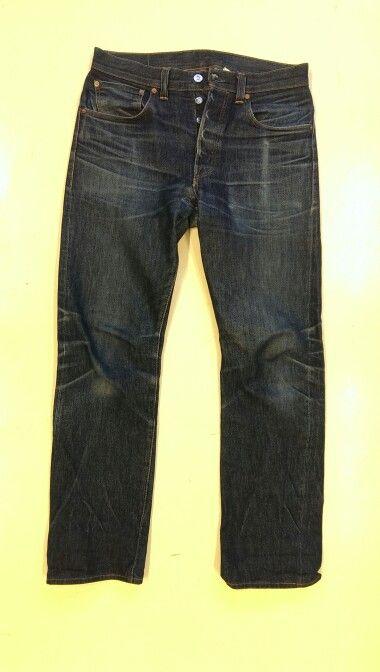 Lvc 1947 501, worn in well