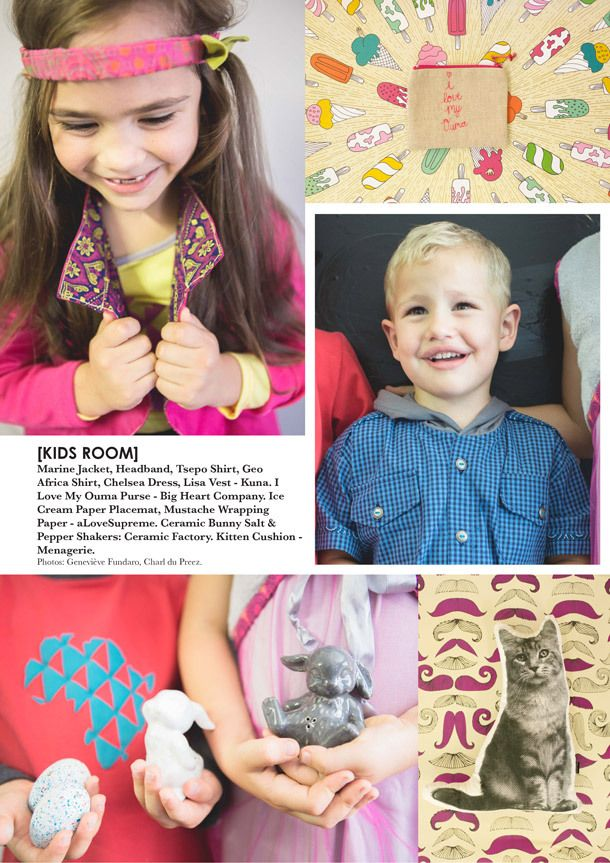 KAMERS Easter in Joburg April-2014 Product Preview Catalogue | Kids Fashion & Fun | Ceramic bunny salt and pepper shakers | Cat cushion