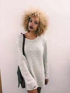Negra loira: +100 fotos para tomar coragem de descolorir os fios