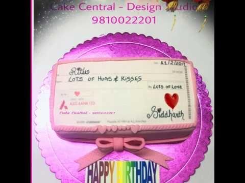 Amazing Cheque Book  Money Cake | Online Cake Delivery Delhi , Gurgaon ,...