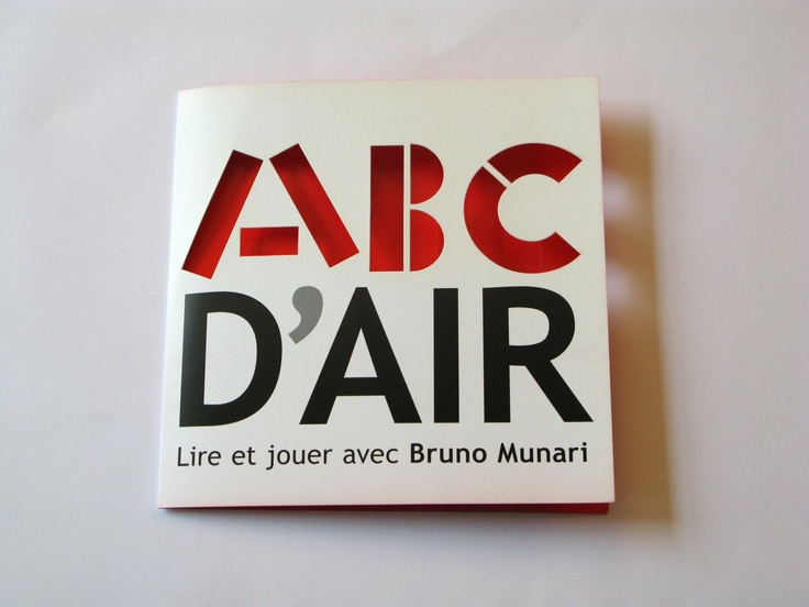 Abecedario   #Bruno Munari