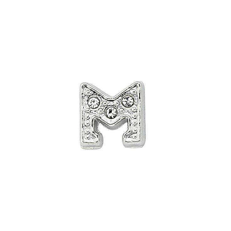 M Harfi - Gümüş rengi