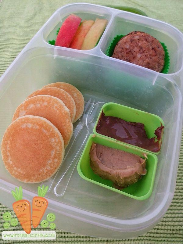 Brunch School lunch idea via greenlunchesgreenkids.com
