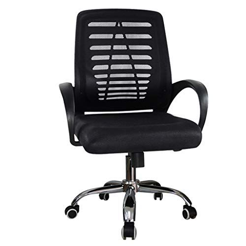 Tangmengyun Office Swivel Chair Computer Swivel Chair Home Back Office Chair Lift Rotating Chair Simple Grid Office Chair Adjustable Chairs Swivel Office Chair