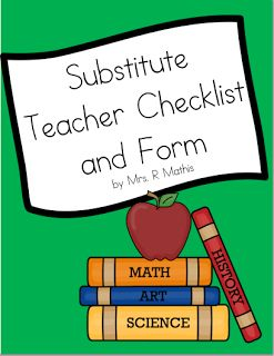 Advice from a Substitute Teacher - Do's and Don'ts (FREEBIE!)