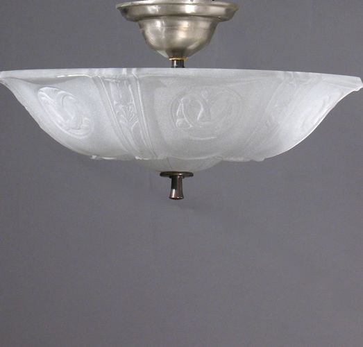 Circa 1930 Great Pair Of Flush Fixtures For Your Hall Or Bed Room Wonderful