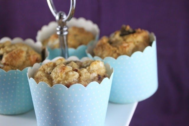 More than Words: Salmon and Goats Cheese Muffins