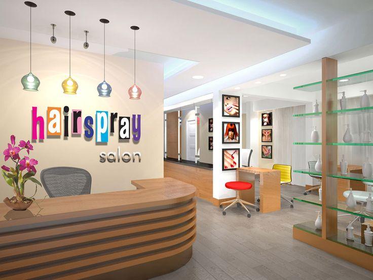 Decoração de salões de beleza criativos - Assuntos Criativos