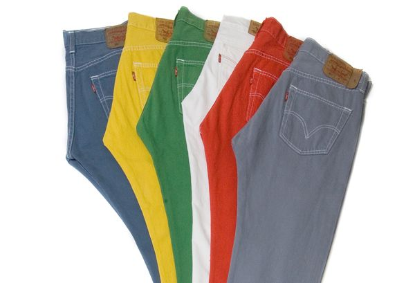 Colored Levi Jeans for Men | Sand Coloured Slim Fit Trousers Classified Ad - Reading Pants and