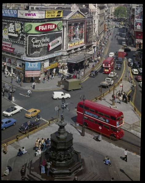 Piccadilly Circus, London, c. 1960 David Noble