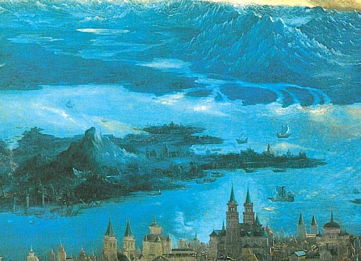 The battle of Issus(fragment) - Albrecht Altdorfer