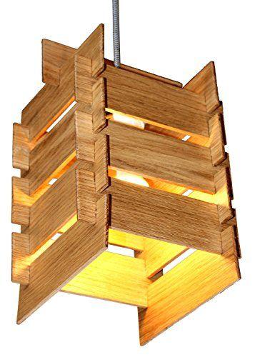 DIY Holz Hängeleuchte KAYA Bausatz  Pendelleuchte Aus Holz Mit Textilkabel   Made In Germany