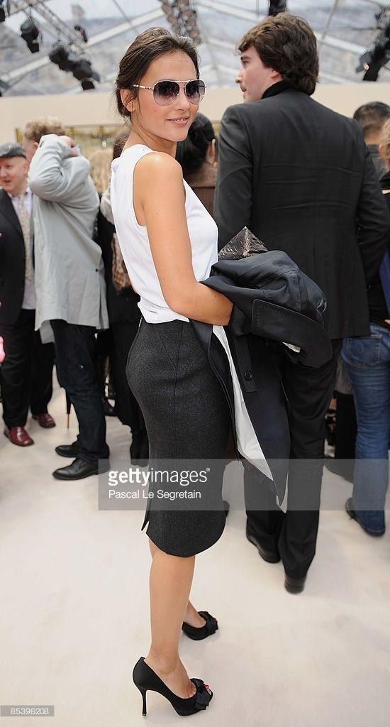 Photo d'actualité : Actress Virginie Ledoyen and Antoine Arnault...