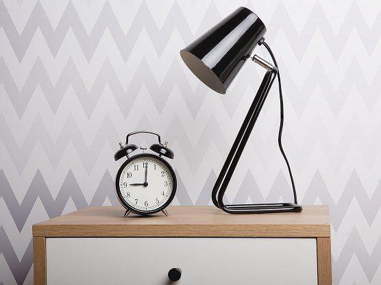 Tafellamp - bureaulamp - nachtkastlamp - burolamp - verlichting - zwart - KASAI_680426