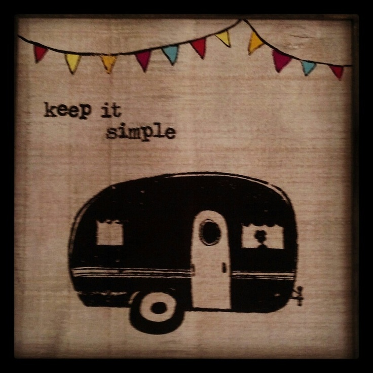 Keep it simple #trailer living