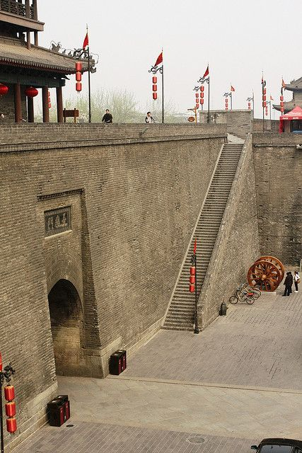 Xi'an - Ancient City Wall..one of my very favorite cities. Where I first met Lainie :-)