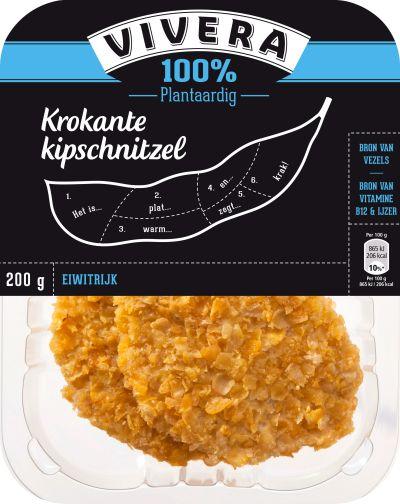 Vivera Krokante Kipschnitzel #vegan