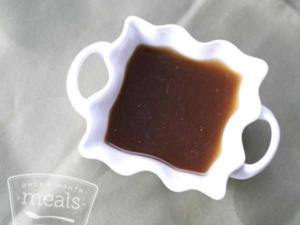 Paleo Worchestershire Sauce - Whole30 Compliant -  Once A Month Meals - Freezer Meals - Freezer Recipes - OAMM - OAMC