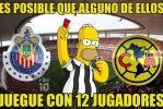 Memes Chivas 0-0 América Ida Cuartos CL16