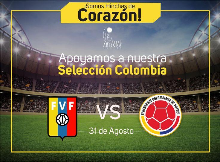 Porqué somos hinchas de Corazón vivimos la pasión del fútbol Apoyando a nuestra #SeleccionColombia #Cucuta #Colombia