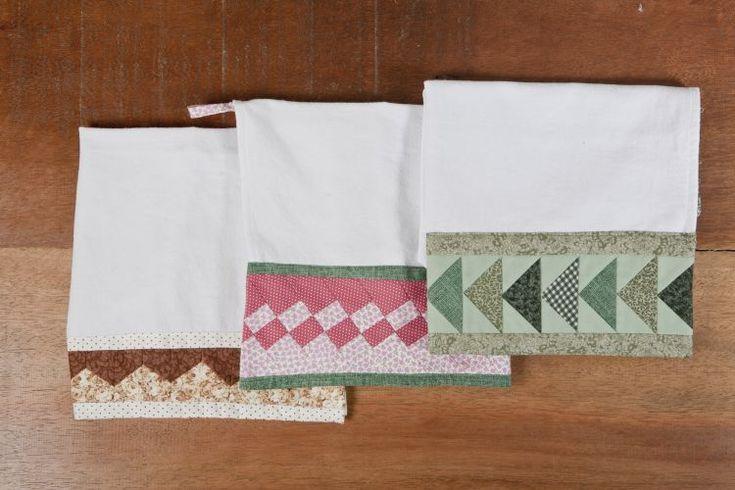 O patchwork é a arte de emendar retalhos de diferentes formatos. Eliana Zerbinatti, da <a href=http://www.panoxadrez.com.br target=_blank><u>Country Craft Studio</u></a>, que vende materiais e oferece cursos da técnica, ensina como aplicá-la no pano de prato