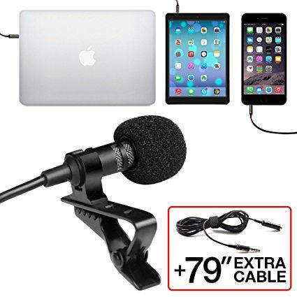 Professional Grade Lavalier Lapel Microphone  # Lavalier   #Microphone  #Youtube  #recording  #Instruments   #Podcast  #Studio   #Stage  #Interview