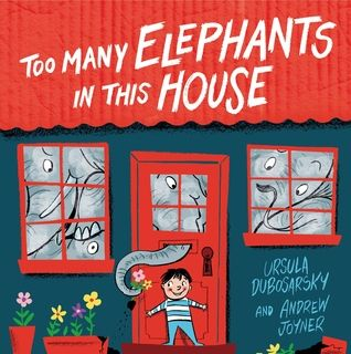 Too Many Elephants in this House by Ursula Dubosarsky. Fantastic illustrations by Andrew Joyner. Complete and utter fun. Bought this one for my 5 year old grandson.