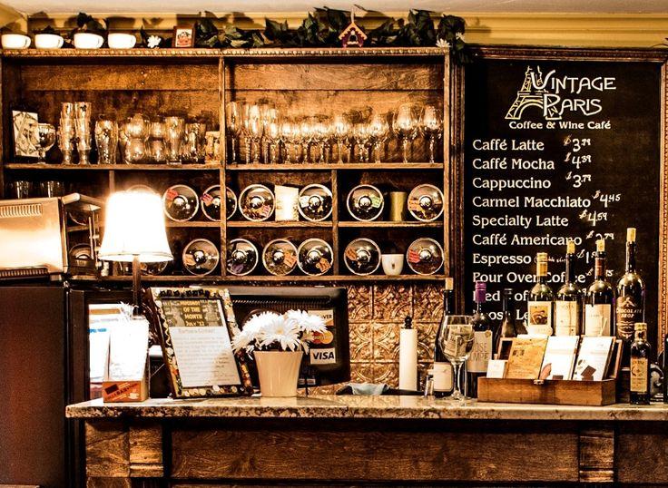 Kết quả hình ảnh cho Vintage coffee shop