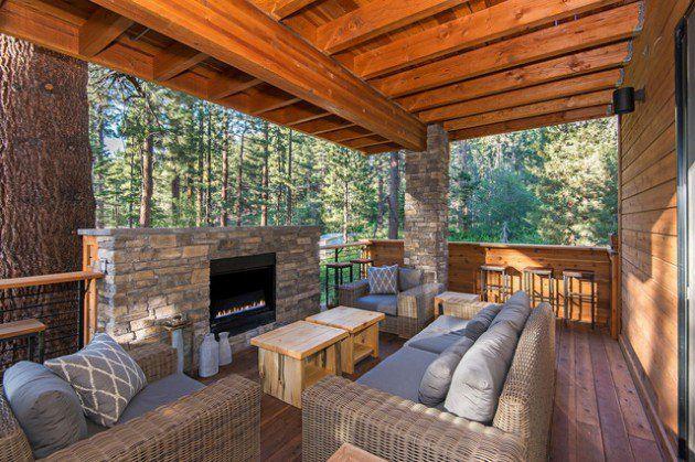 Best 25 Rustic Deck Ideas On Pinterest Outdoor