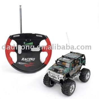 Free RC Cars and Trucks | Free Shipping Mini RC Radio Remote Control Car Jeep Hummer Truck Toy ...