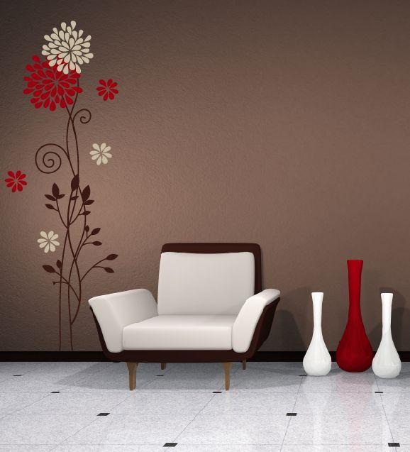 Las 25 mejores ideas sobre decoraci n de paredes de color - Formas de pintar paredes ...
