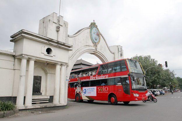 Werkudara Bus Solo Indonesia