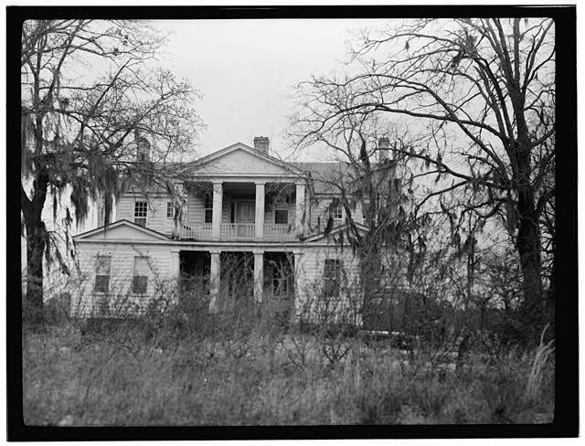 Brookland Plantation House, Old Charleston Road (State Route