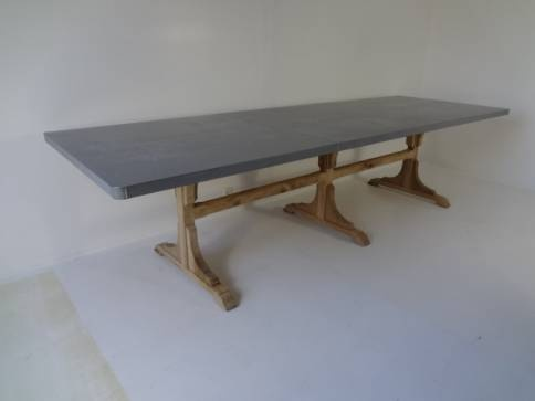 1000 Images About Zinc Table Tops On Pinterest