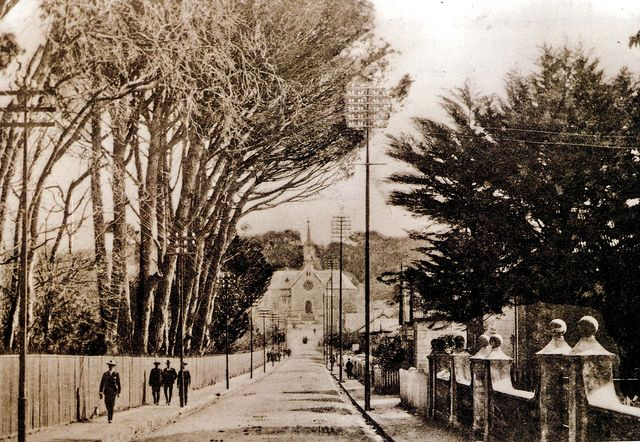 Church Street, Wynberg, Cape Town.Church Street, Wynberg, showing the Dutch Reformed Church up the road, on Carr's Hill. Nowadays, photographs of the street would include the Wynberg magistrate's court , at right, and Maynardville Park at left. 1900 | Flickr - Photo Sharing!